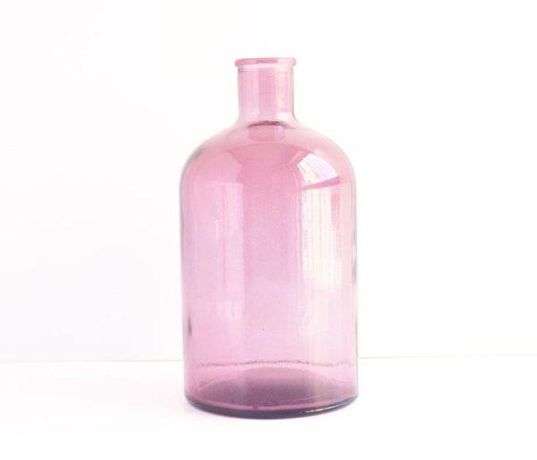 Botella retro de cristal grande