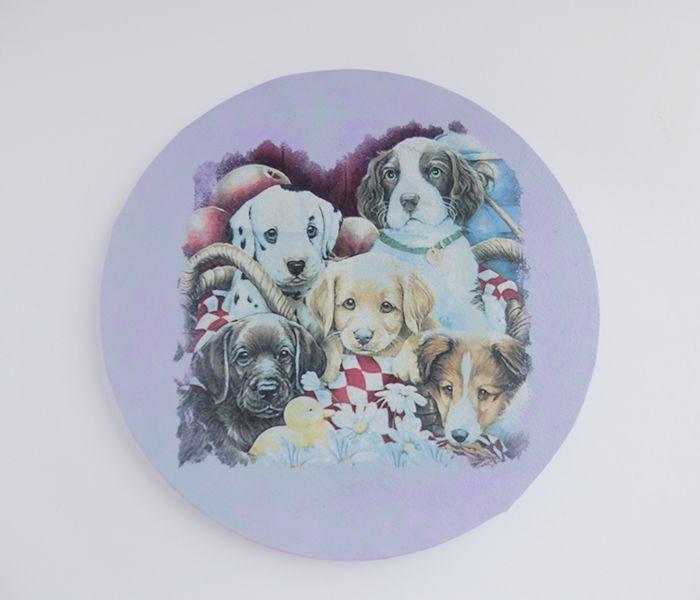 Lienzo de perros