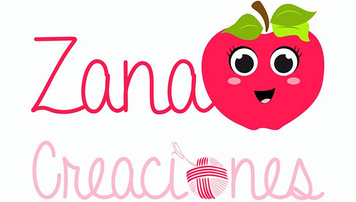Logotipo marcas: Zana Creaciones