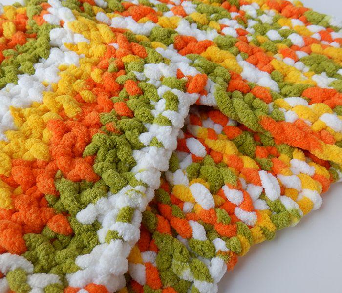 Cuello de lana gustoso amarilos
