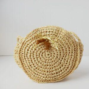 Bolso de papel natural