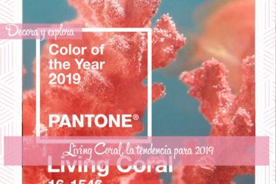 Living Coral, el nuevo color Pantone para llenar del luz este 2019