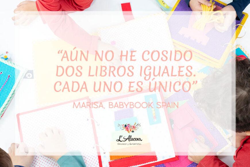 Babybook Spain, libros sensoriales hechos a mano con muchísimo cariño