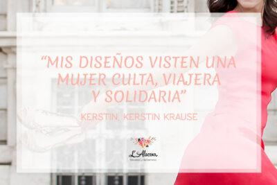 Kerstin Krause, nos adentramos en la alta costura artesanal