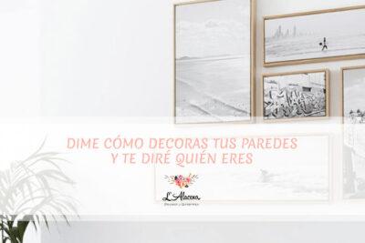 5 propuestas de decoración para tu pared