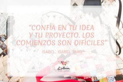 Papel reciclado: Isabel Puig convierte el reciclaje en tendencia