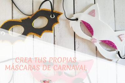 Tutorial de máscaras para carnaval